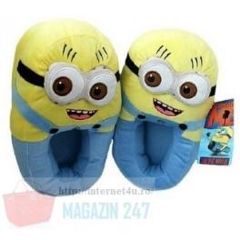 Papuci de casa model Minions Shoes
