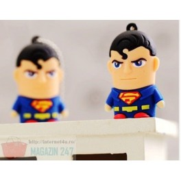 Stick Memorie Flash Drive USB 2.0 model Heroes Superman Batman Spiderman