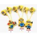 Casti cu fir model Minions Headphones