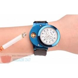 Ceas Fashion Model Bricheta Electronica USB Military Electronic Cigarette Lighter Usb Quartz Watch Sports