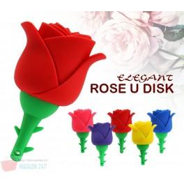 Stick Memorie Flash Drive USB 2.0 model Trandafir