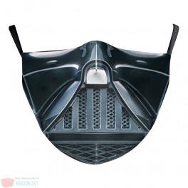 Masca de protectie reutilizabila imprimata cu modele personaje Star Wars cu filtru PM2.5 Cadou Fashion