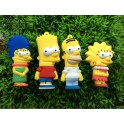 Stick Memorie USB 2.0 model Familia Simson Homer Marge Lisa Bart