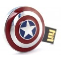 Stick Memorie Flash USB 2.0 model Captain America Shield