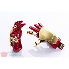 Stick Memorie Flash USB 2.0 model Marvel Avengers Ironman Repulsor Hand
