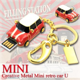 Stick Memorie Flash Drive USB 2.0 model Masina Mini Cooper Car
