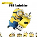 Stick Memorie Flash Drive USB 2.0 model Minion Despicable Me Minions Dave Kevin Stuart Phil Tim Mark Lance