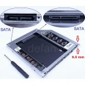 Rack Intern Laptop Slim Ultrabook 9.5mm SATA - SATA HDD/SSD 2.5''