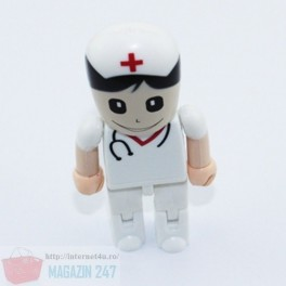 Stick Memorie Flash Drive USB 2.0 model Doctor Lego