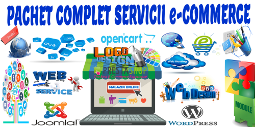Pachet Complet Servicii e-Commerce